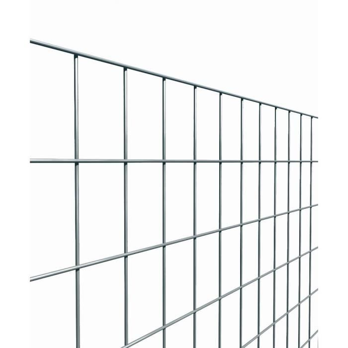 clôture métallique